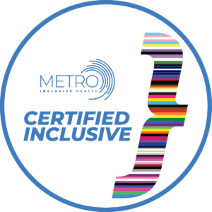 Certified Inclusive Window Cling