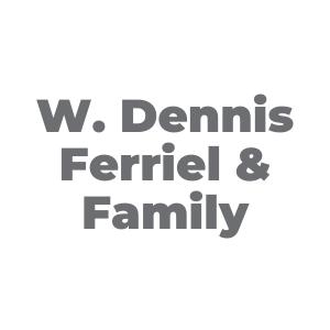 METRO Sponsor: W. Dennis Ferriel & Family