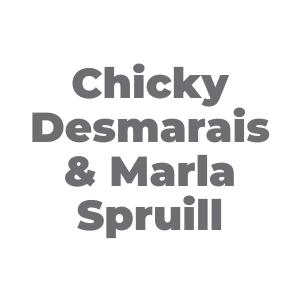 METRO Sponsor: Chicky Desmarais & Marla Spruill