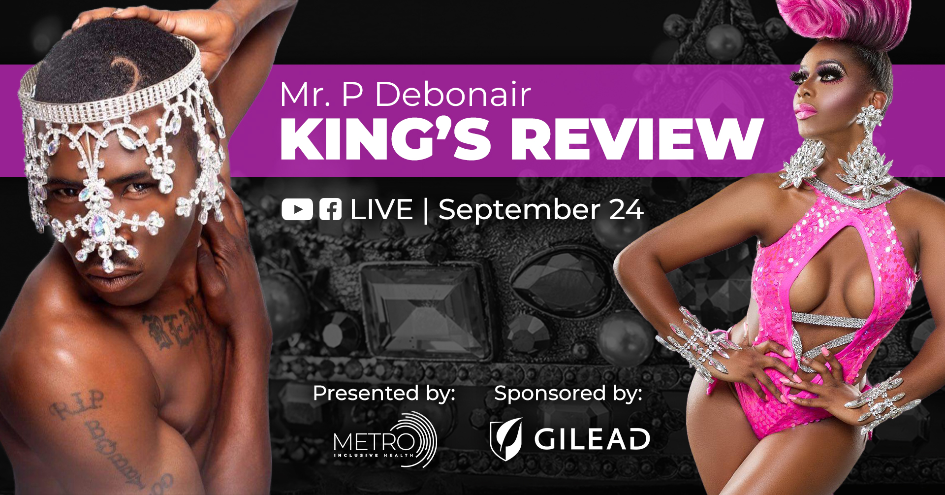 MR P. Debonair King's Review - Sponsored