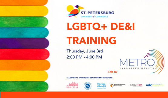 Metro Inclusive Health Provides LGBTQ+ Training for Chamber Partners.